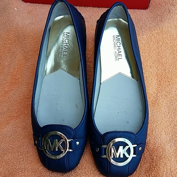 Michael Kors Flats Navy Blue